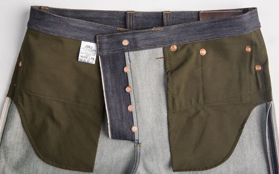 It will take few days to break in this pants , but them will give you a fantastic fade and feelings. 15.2 Oz. of dense and slubby selvedge denim by Berto mills.Tucked belt loops. Hidden rivets. Vegtan leather washers on back rivets and buttons.One piece fly.Single needle sewed.Selvedge on coin pocket. Flat felled seams for great fade effects Vegtan leather patch hot stamped in blue indigo color.Tappered Slim fit. Selvedge side seams with double chainstitch made with a vintage Union Special…