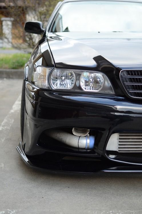 JZX100 Chaser With JZX100 Cresta Grill | JZX World | Pinterest | Jdm, Toyota  And
