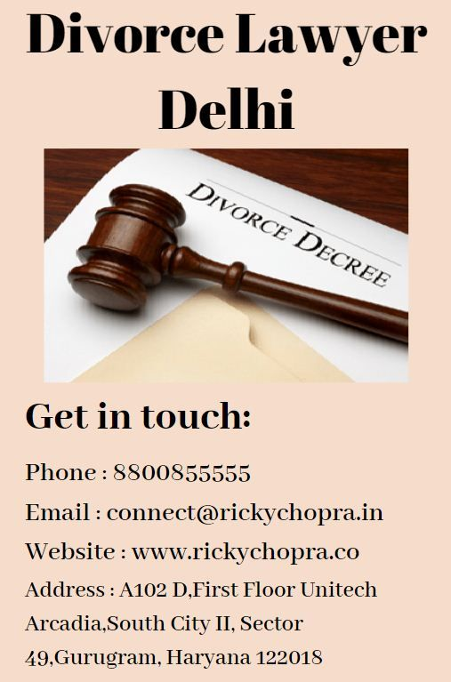 Our Delhi Law Firm Has Provided The Best Divorce Lawyer For Filing