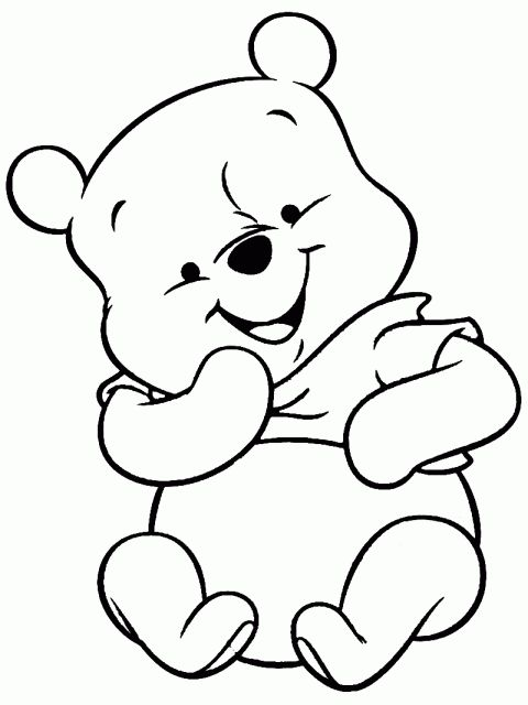 17 Baby Winnie The Pooh Drawing Drawingwow Com Winnie The Pooh Drawing Disney Coloring Pages Baby Coloring Pages