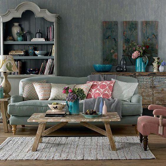 10 Feminine Living Room Ideas Shabby, Chic and Feminine
