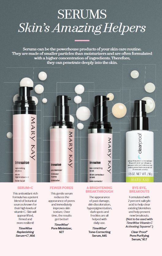 Boost Your Skin Care With Amazing Serums Mary Kay Cosmetics