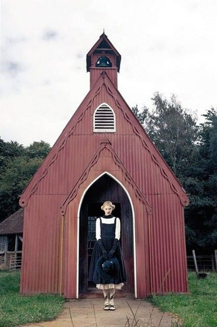 Country Funeral: Pinterest Board, Sweetest Architecture, Girl, Faeries Witches, Fairytale Space, European Church, Church Structures, Funeral Dress