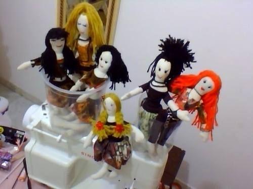 bonecas de pano modelos exclusivos.