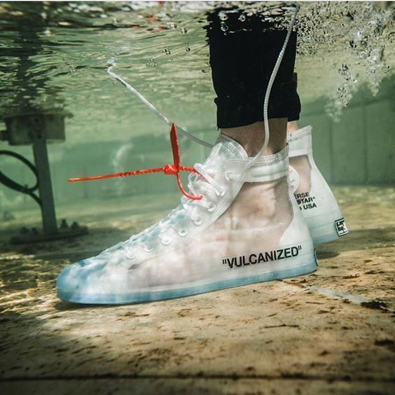 Ua Off White Converse All Star Collection Vulcanized White Online Sneakers Men Fashion Sneakers Fashion Hype Shoes