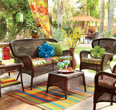 I Like These Outdoor Rugs And Cushions