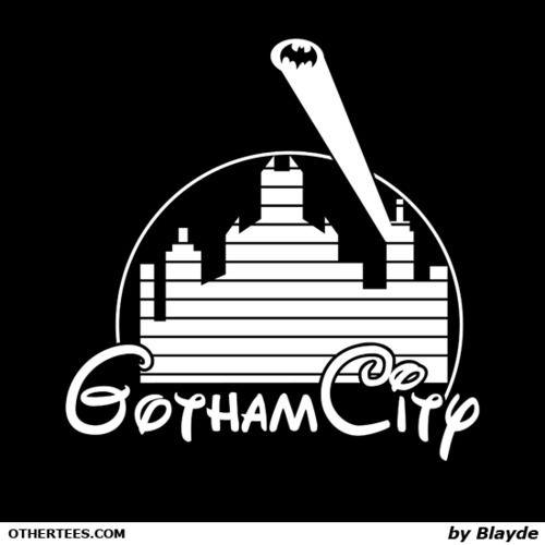Gotham Disney: T Shirt, Gotham City, Superheros Villans Dc Comics, I M Batman, City Disney, Disney Cruise/Plan, Superheroes Marvel Dccomics