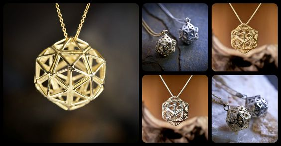 This beautiful sacred geometry structure is a combination between two of the Perfect Platonic Solids, the Icosahedron and the Dodecahedron. The structure radiates subtle harmonious vibration and many claim that it has excellent healing characteristicsץ