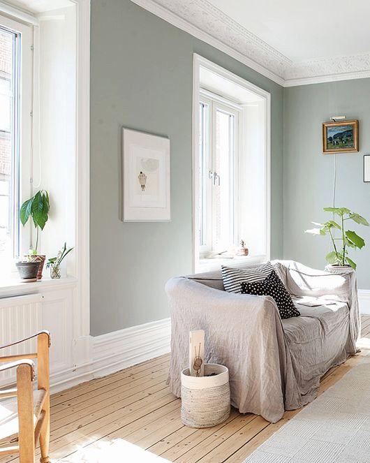 Alpina Feine Farben Sanfter Morgentau Flur Oben Farbgestaltung Treppenhaus Wohnzimmer Grau Grune Wohnzimmer Feine Farben