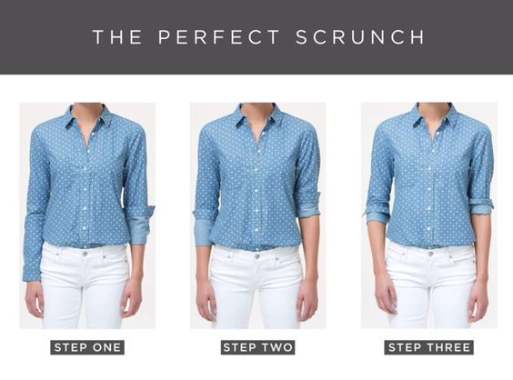 The perfect scrunch.