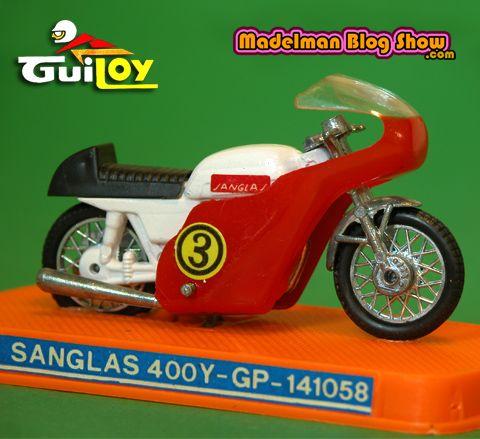 MADELMAN BLOG SHOW: Guiloy & Coman boys: Motociclista 70's