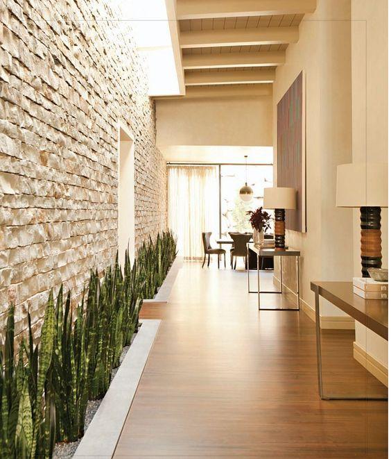 Ideas para el hogar jardiner a decoraci n espacio for Diseno pasillos interiores