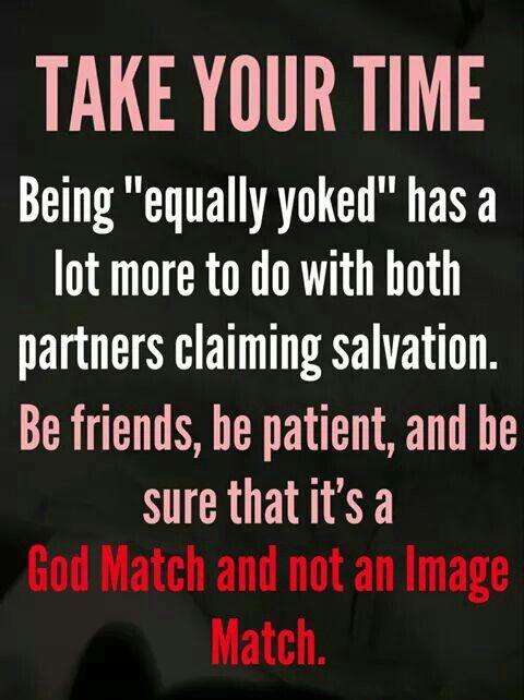 Equally yoked bible verse