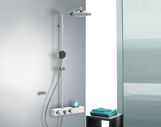 Nooit meer te lang onder de douche? De Hansaforsenses van Hansa stopt automatisch na 4 minuten (of zelfs sneller als u dat wilt).  Meer info: www.hansa.com     #metamorphosia