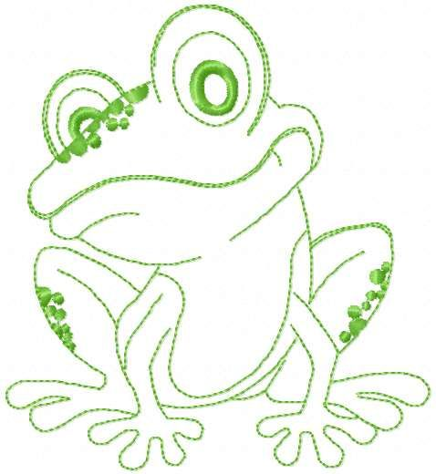 Small Cute Frog Free Embroidery Design Small Cute Frog Free Embroidery Design Oneco Sewing Embroidery Designs Free Embroidery Designs Machine Embroidery