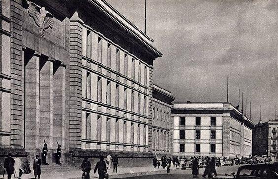 Berlin, Neue Reichskanzlei in der Vossstrasse, 1939.