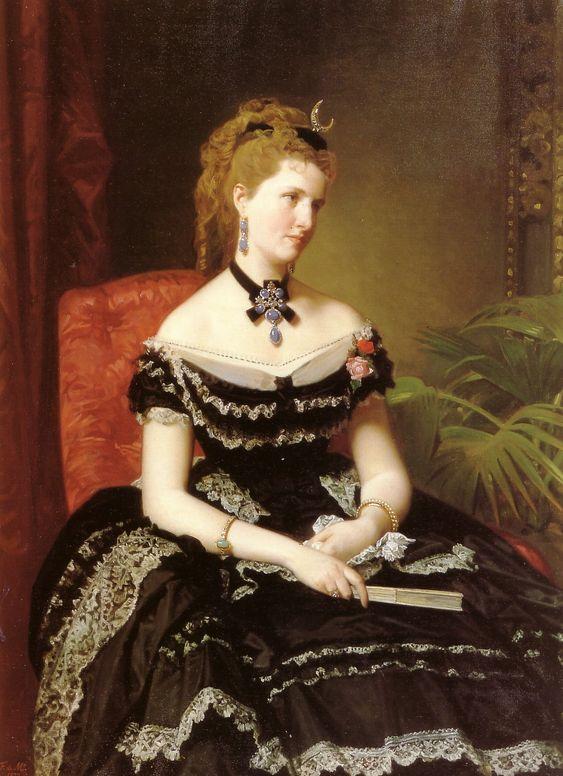 Matilde de Aguilera circa 1870