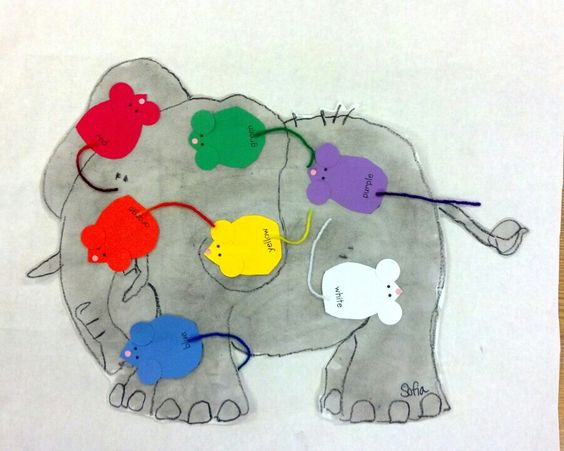 seven blind mice writing activities