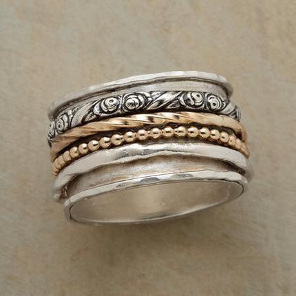 Buddha to Buddha Men's 925 Sterling Silver Denise Cord Dark Grey Bracelet of…