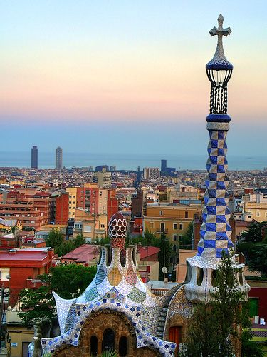 Spanish Architecture Gaudi Barcelona Spain Gaudi Pinterest Amazing Places Beautiful
