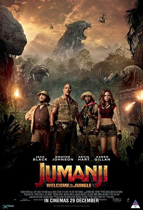Jumanji Welcome To The Jungle 2017 English Hdts 700mb Download