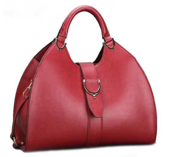 retro style genuine cow Leather Handbag
