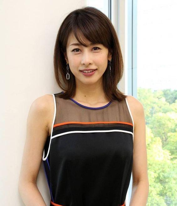 露出が高い加藤綾子