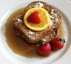 Quick and Delicious #GlutenFree French Toast! Recipe via @Molly Gorman. Breakfast is served!