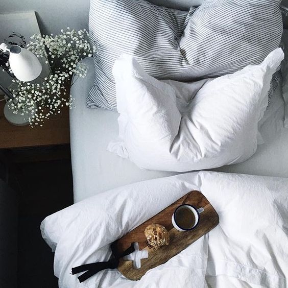 Crisp, White sheets - always: