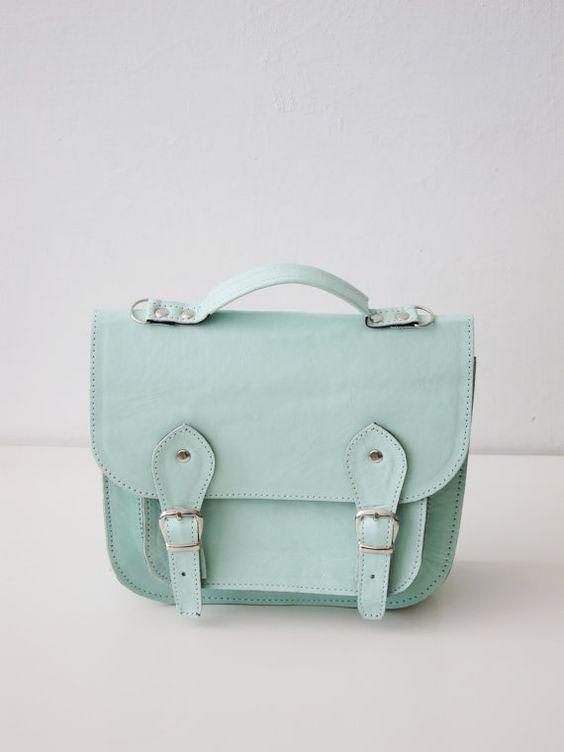 Bag number 3 leather satchel von goldenponies auf Etsy, $75,00