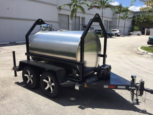 Fuel Trailer 500 Gallon Aluminum Tank Work Trailer Repair And Maintenance Repair