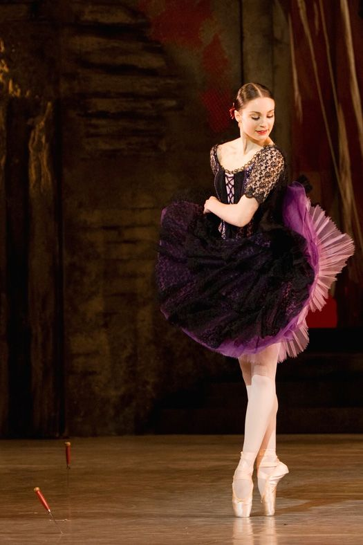 Amy Watson as Mercedes in the Royal Danish Ballet's DON QUIXOTE