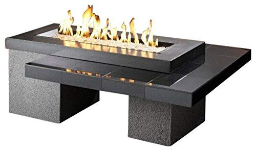 Outdoor Greatroom Uptown Gas Fire Pit With 42x12 Inch Bur Https Www Amazon Com Dp B00erdsb6g Ref Cm Sw R Gas Firepit Gas Fire Table Propane Fire Pit Table