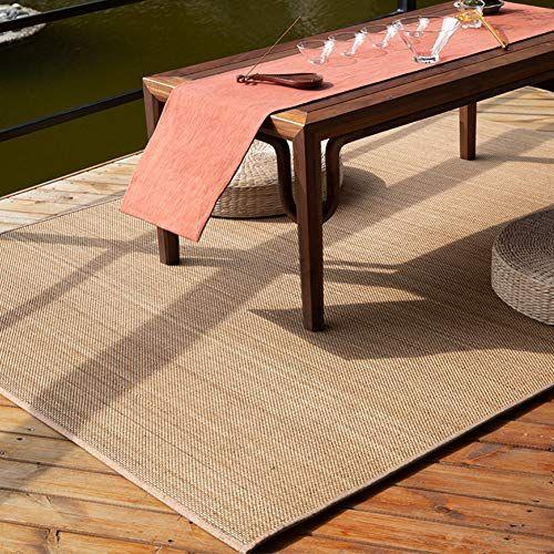 wjh tapis de bambou tresse natte de