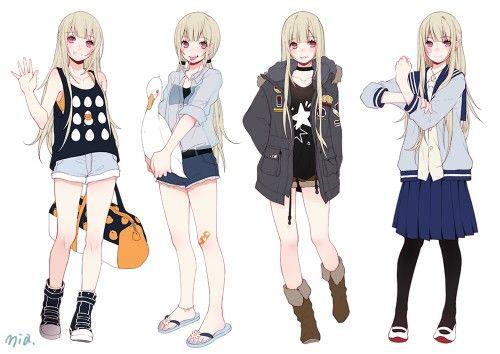 Outfits   Anime/ manga   Pinterest   Anna e Roupa