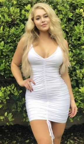 Hot Blondes In Tight Dresses