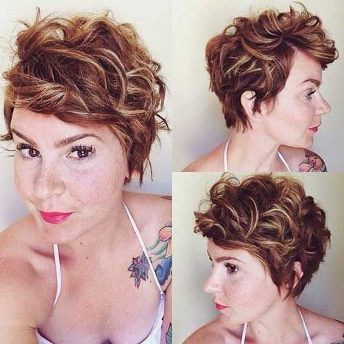 Bastante rizado corto peinados que usted amará //  #amará #Bastante #corto #Peinados #rizado #usted