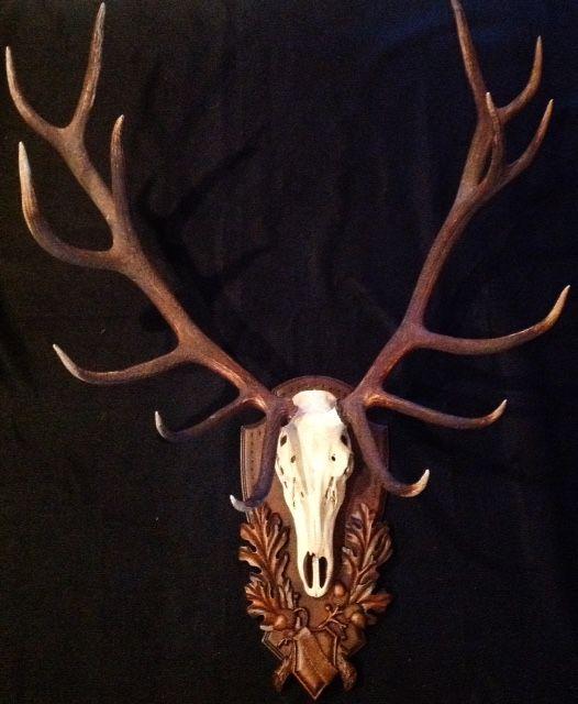 Red Deer Stag European Home Decor Antlers Decor Interior Design Games