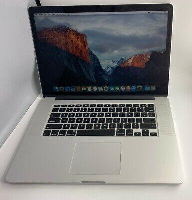 Apple Macbook Pro 15 Retina 2015 Quad Core I7 4770hq 16gb In 2020 Macbook Pro 15 Apple Macbook Macbook Pro