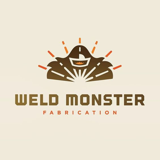 Weld Monster logo for @ablake211 Thx again to @lanablake I had a lot of fun on this one. #weldmonster