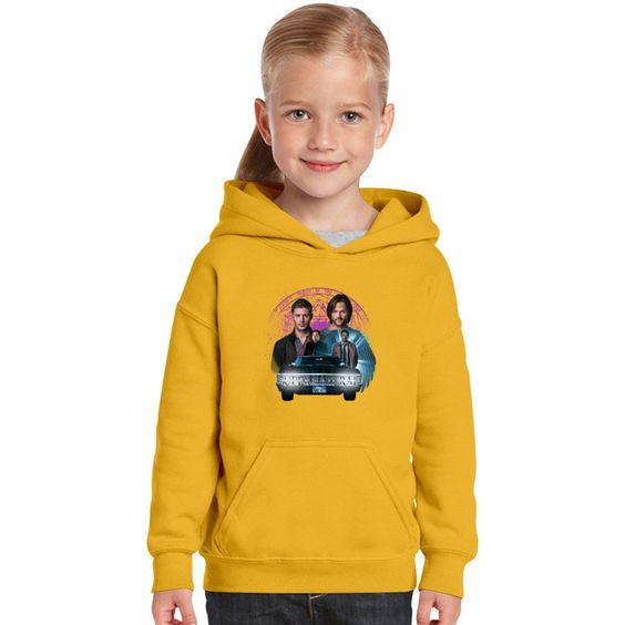 Supernatural The Roads Journey Kids Hoodie