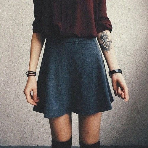 swag girls girl fashion hippie style hipster vintage indie Grunge dark tattoo outfit girly ootd