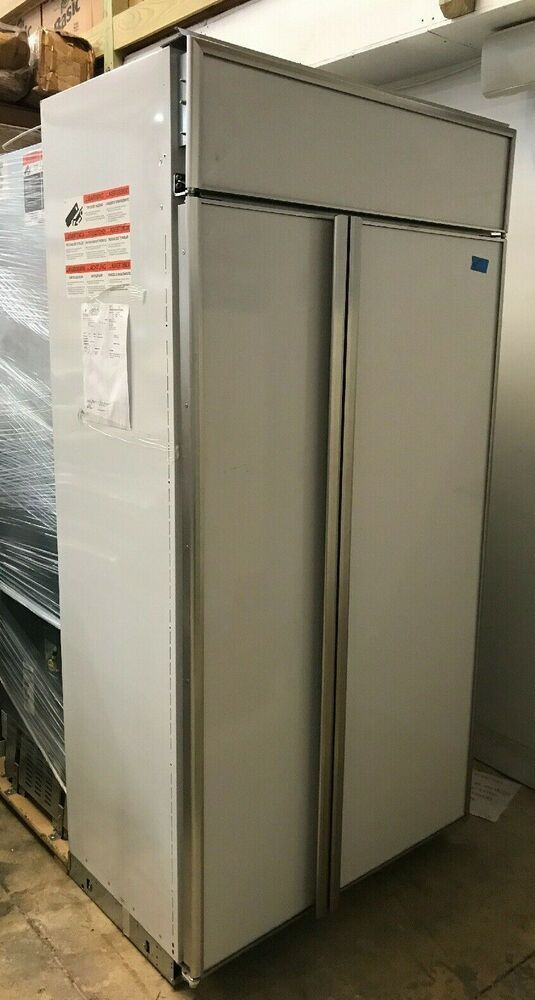 Ge Monogram Zis420nk 42 Built In Side By Side Refrigerator Wifi Panel Ready Ge In 2020 Side By Side Refrigerator Refrigerator Paneling