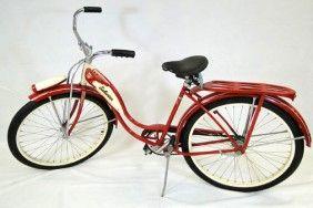 1950's girls Schwinn bike