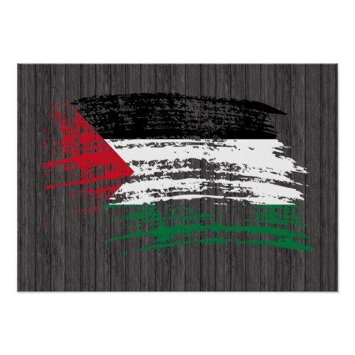 Cool Palestinian Flag Design Poster Zazzle Com Poster Design Flag Design Palestinian Flag