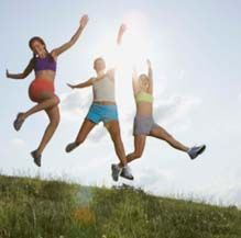Sign up for our free Women's Health and Wellness and Fitness newsletters sent out every month.