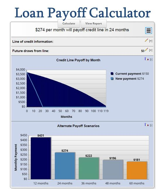 Debt Payoff Calculator \ Monthly Budget by worksheets4hire - debt payoff calculator