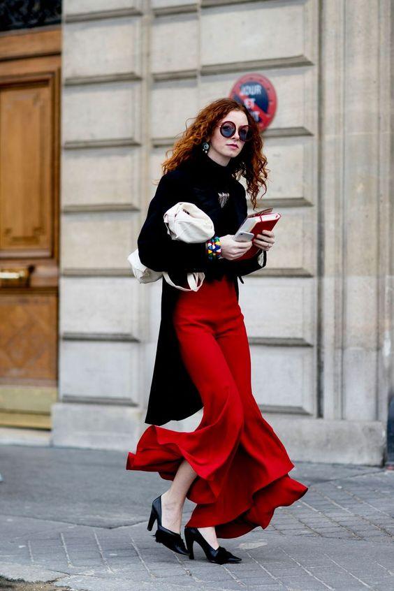 The Best Street Style At Paris Fashion Week Autumn Winter 2017