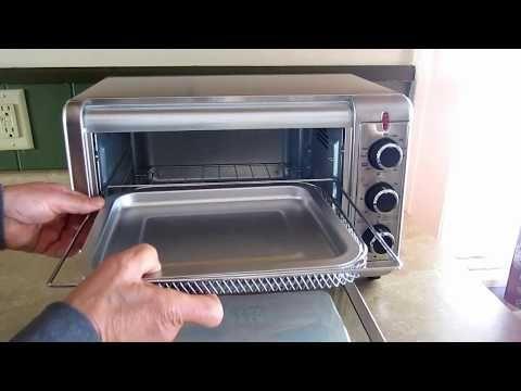 Black And Decker Crisp N Bake Air Fryer Toaster Oven Unboxing