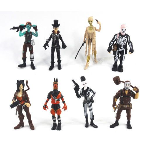8pcs Fortnight Fortnite Action Figure Model Toy Anime Action And Character Toys Action Figures Toys Action Figures Figure Model